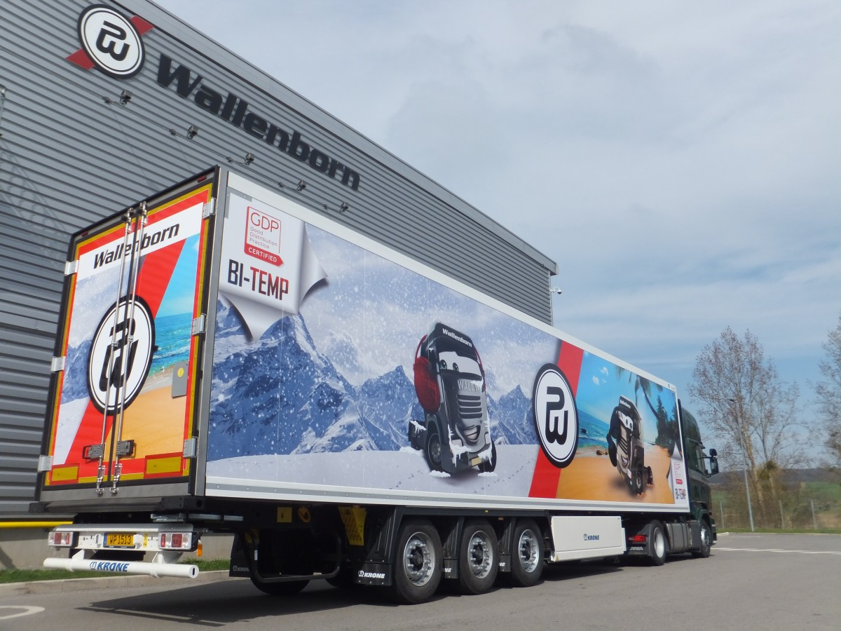 Wallenborn - one of Europe's fastest growing transport groups